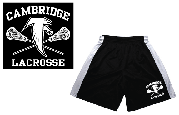 Cambridge Youth Lacrosse shorts
